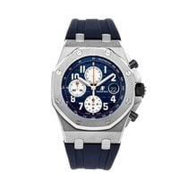 Audemars Piguet Royal Oak Offshore Chronograph Steel 42mm Blue Arabic numerals United States of America, Pennsylvania, Bala Cynwyd