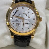Jaeger-LeCoultre Rose gold Manual winding Silver pre-owned Master Control Date