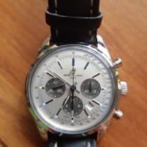 Breitling Transocean Chronograph AB015212/G724 Очень хорошее Сталь 43mm Автоподзавод