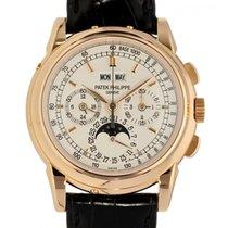 Patek Philippe Perpetual Calendar Chronograph Roségold 40mm Champagnerfarben Keine Ziffern