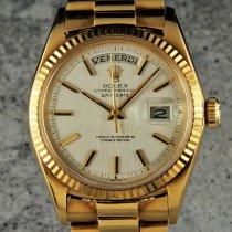 Rolex Day-Date 36 Oro giallo 36mm Argento Senza numeri Italia, Modena