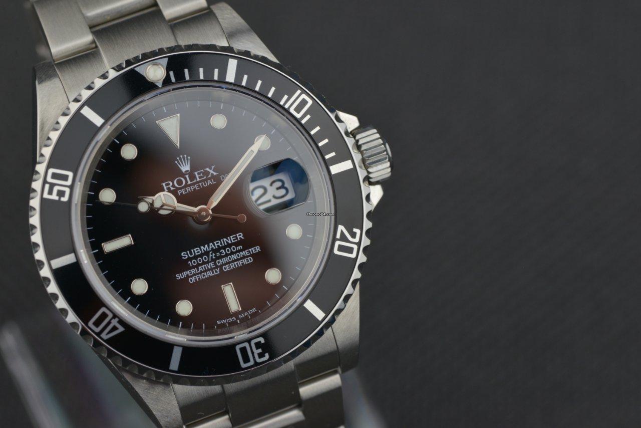 Rolex Submariner Date 16610 2005 tweedehands