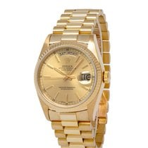 Rolex 18038 Yellow gold 1985 Day-Date 36 36mm pre-owned United States of America, New York, Hartsdale