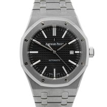 Audemars Piguet Steel 41mm Automatic 15400ST.OO.1220ST.02 pre-owned