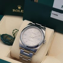 Rolex Oyster Perpetual 36 Acero 36mm Plata