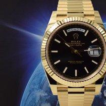Rolex Day-Date 40 Oro giallo 40mm Nero Italia, MILANO - MUNICH -   FROSINONE - MANFREDONIA