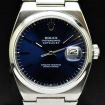 Rolex Datejust Oysterquartz Сталь 36mm Синий Без цифр