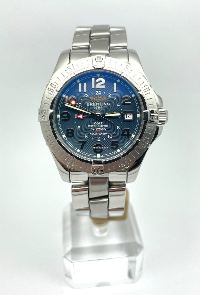 Breitling Colt GMT A32350 2006 pre-owned