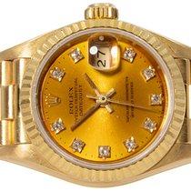 Rolex Lady-Datejust Gelbgold 26,00mm Gold Keine Ziffern Deutschland, Hamburg