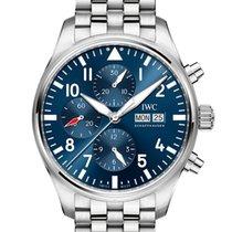 IWC Pilot Chronograph nuevo 2021 Automático Cronógrafo Reloj con estuche y documentos originales IW377717