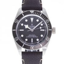 Tudor Silver Automatic Grey 39mm pre-owned Black Bay Fifty-Eight