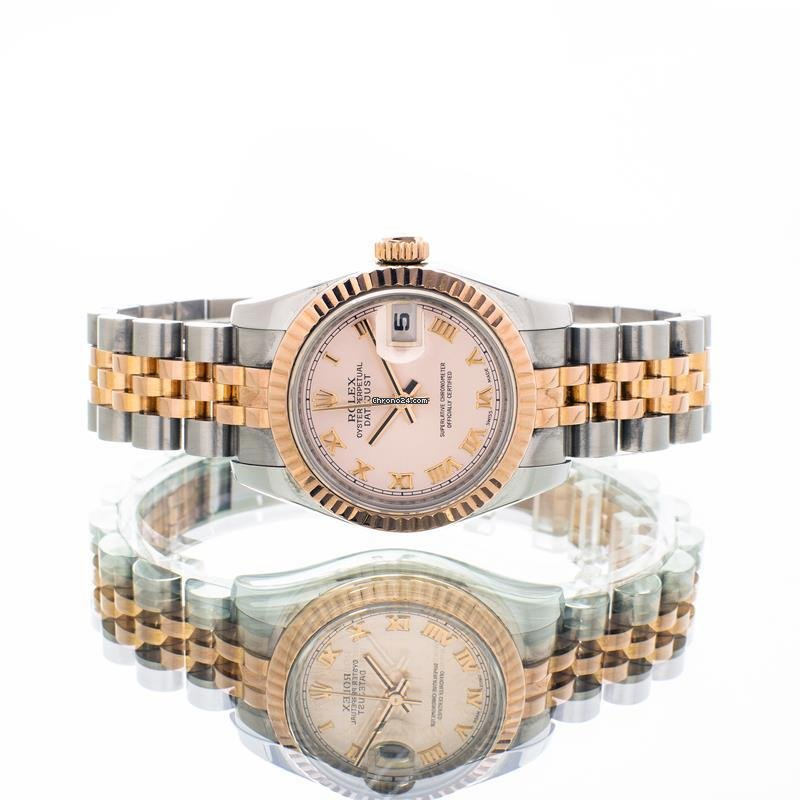 Rolex Lady-Datejust 179171 2012 pre-owned