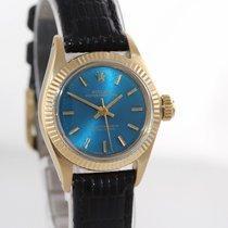 Rolex Lady-Datejust Yellow gold 24mm Blue United States of America, New York, Huntington