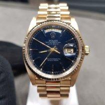 Rolex Day-Date 36 Oro giallo 36mm Blu Senza numeri Italia, Castellanza (VA)