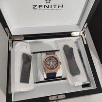 Zenith Defy El Primero Or rose 44mm Transparent Sans chiffres