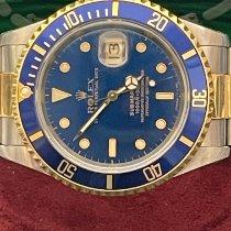 Rolex Submariner Date 16613 Ottimo Oro/Acciaio 40mm Automatico Italia, milano