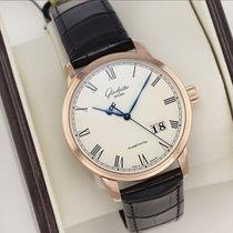 Glashütte Original Senator Panoramadatum neu 2021 Automatik Uhr mit Original-Box 100-03-32-45-04