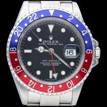 Rolex GMT-Master II Acier 40mm Noir Sans chiffres Belgique, Brussel