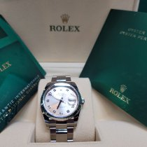 Rolex Oyster Perpetual Date 115234 Neu Stahl 34mm Automatik Schweiz, Geneve