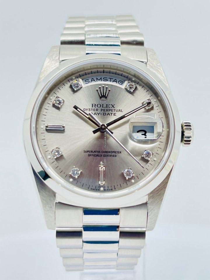 Rolex Day-Date 36 118206 1994 подержанные