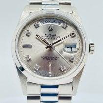 Rolex Platinum 36mm Automatic 118206 pre-owned