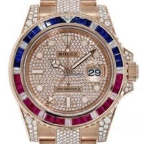 Rolex GMT-Master II Rose gold 40mm No numerals United States of America, New York, New York