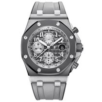 Audemars Piguet 26470IO.OO.A006CA.01 Titanium Royal Oak Offshore Chronograph 42mm pre-owned United States of America, New York, New York
