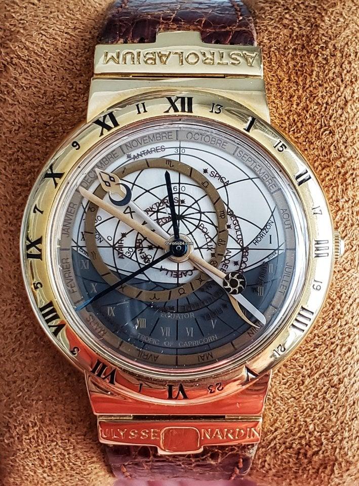 Ulysse Nardin Astrolabium 931-22 1989 pre-owned