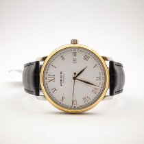 Montblanc Tradition Gold/Steel 40mm White