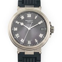 Breguet pre-owned Automatic 40mm Grey Sapphire crystal 10 ATM
