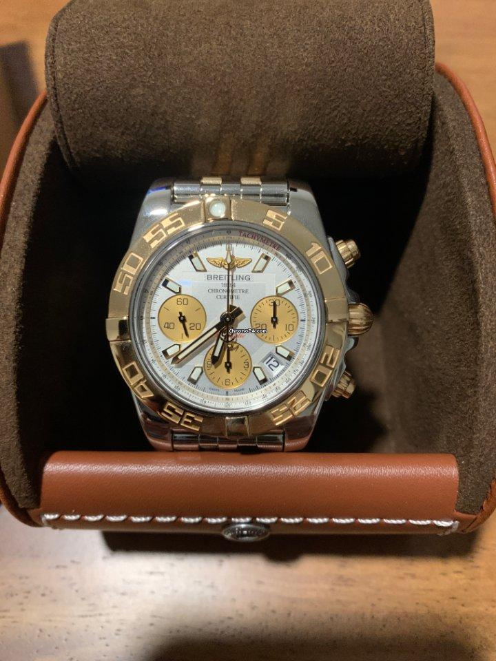 Breitling Chronomat 41 CB014012/G713/378C 2016 подержанные