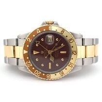 Rolex GMT-Master Gold/Steel 40mm Brown No numerals United States of America, Florida, Aventura