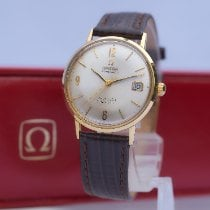 Omega Seamaster DeVille Yellow gold 34mm Silver