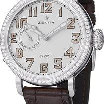 Zenith Pilot Type 20 Lady Steel 40mm White Arabic numerals