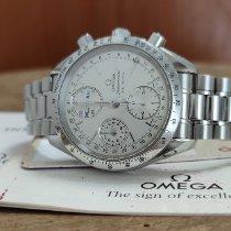 Omega Speedmaster Day Date Acier 39mm Argent Sans chiffres