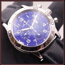 Breguet Type XX - XXI - XXII Steel 39,5mm Blue Arabic numerals