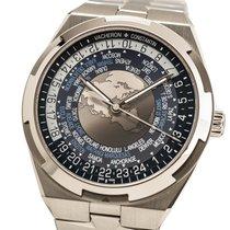Vacheron Constantin Overseas World Time Steel 43mm Blue Arabic numerals