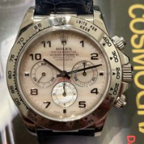 Rolex Daytona White gold 40mm Mother of pearl Arabic numerals
