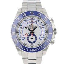 Rolex Yacht-Master II Acier 44mm Blanc Arabes