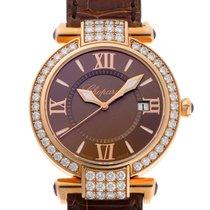 Chopard (ショパール) 新品 クォーツ 宝石 & ダイヤモンド装飾 36mm ピンクゴールド サファイアガラス