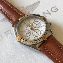 Breitling Callisto новые 1990 Механические Хронограф Часы с оригинальными документами и коробкой 80520