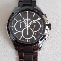 Rado HyperChrome Chronograph Керамика 45mm Черный Без цифр