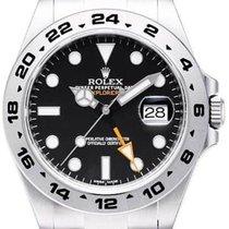 Rolex Explorer II Stahl 42mm Schwarz