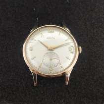 Zenith Rose gold Manual winding Arabic numerals 38mm pre-owned