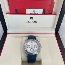 Tudor Sport Chronograph Acero 41mm Azul Sin cifras