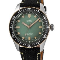 Oris Steel Automatic 01 733 7707 4337-Set new United States of America, New York, Brooklyn