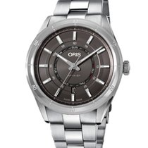 Oris Steel Automatic 01 735 7751 4153-07 8 21 87 new United States of America, New York, Brooklyn