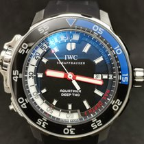 IWC Aquatimer Deep Two Acero Negro España, Madrid