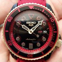 Seiko 5 Sports Steel 42.5mm Black No numerals United States of America, Ohio, PARMA HEIGHTS