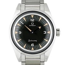 Omega Seamaster Railmaster Steel 38mm Black Arabic numerals United States of America, Georgia, Atlanta